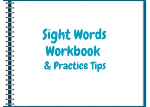Summer Program Sight Words Workbook & Practice tips